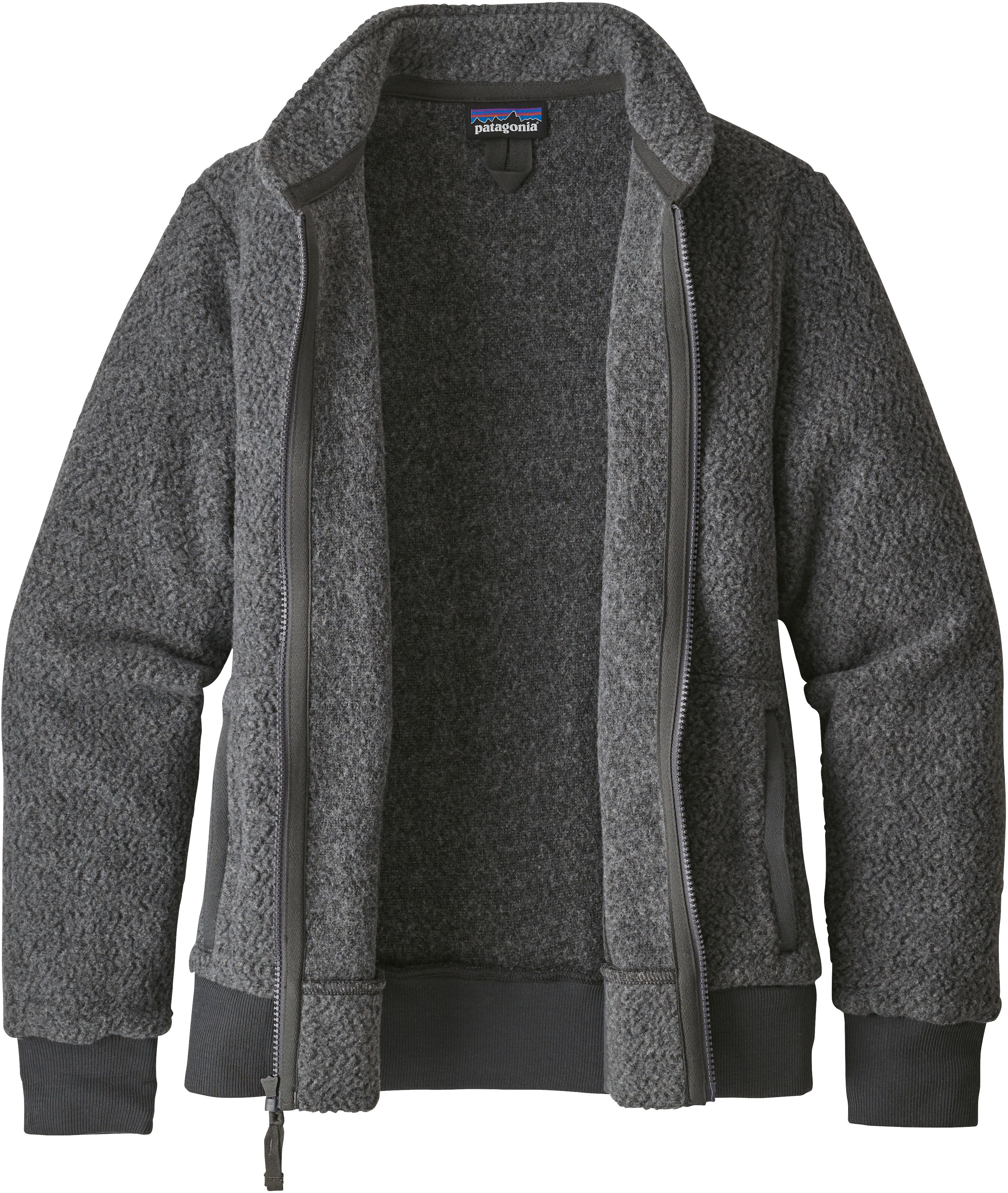 822411a0adc72 Patagonia Woolyester Fleece Jacket Dam forge grey